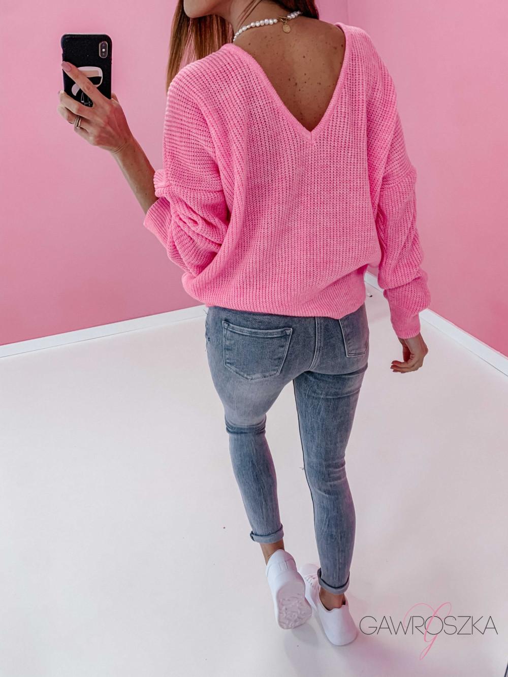 Spodnie jeans z guzikami - GREY 2