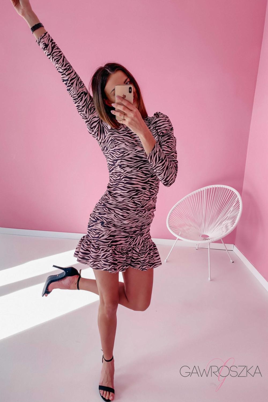 Sukienka Loren PREMIUM - zebra 1