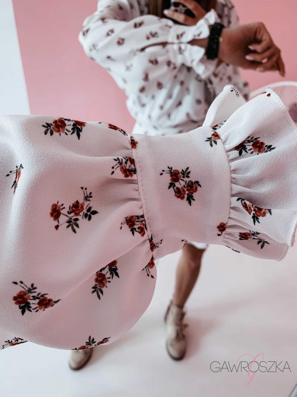 Sukienka Megi z regulowaną długością - biała 2