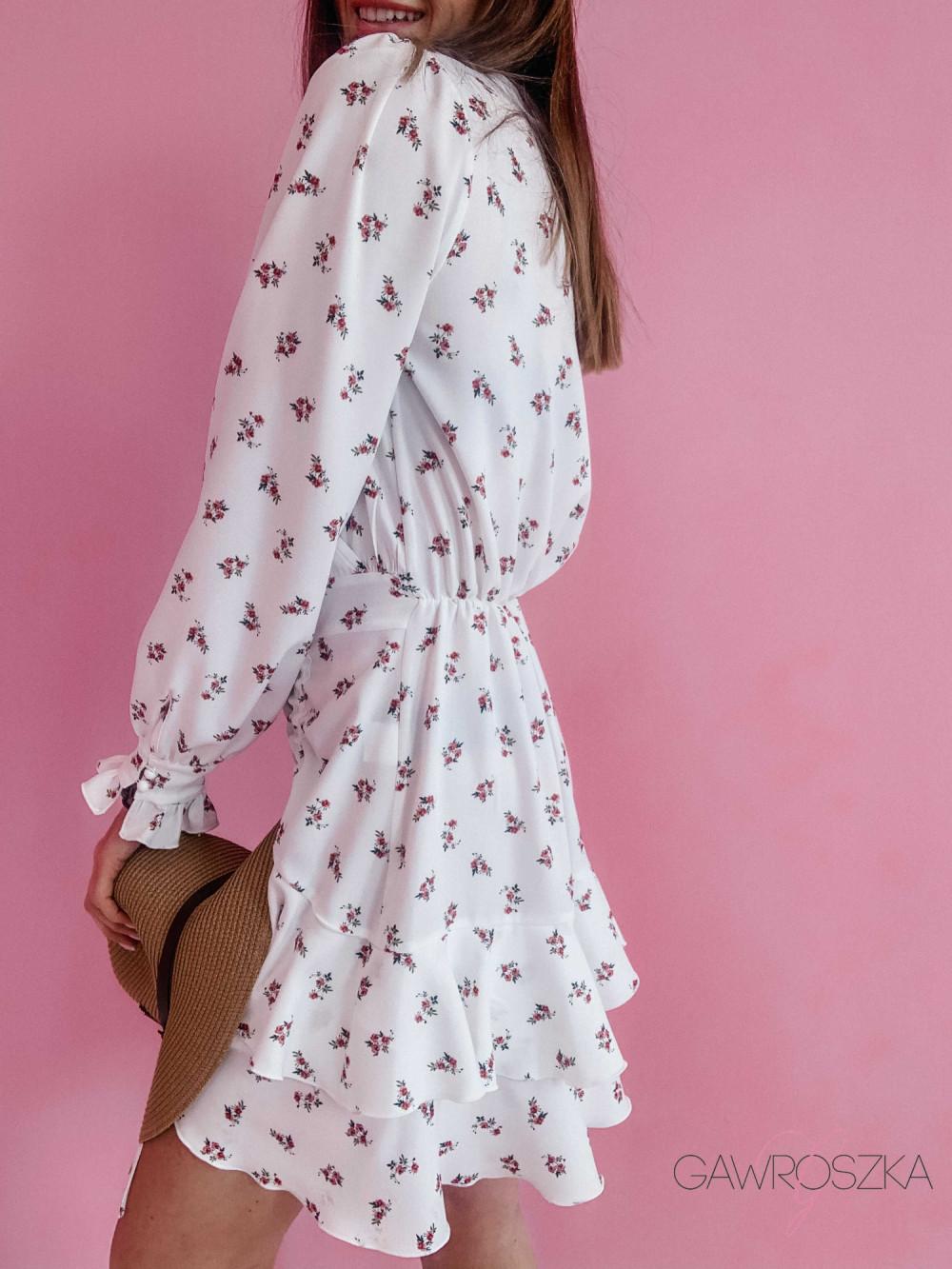 Sukienka Megi z regulowaną długością - biała 4