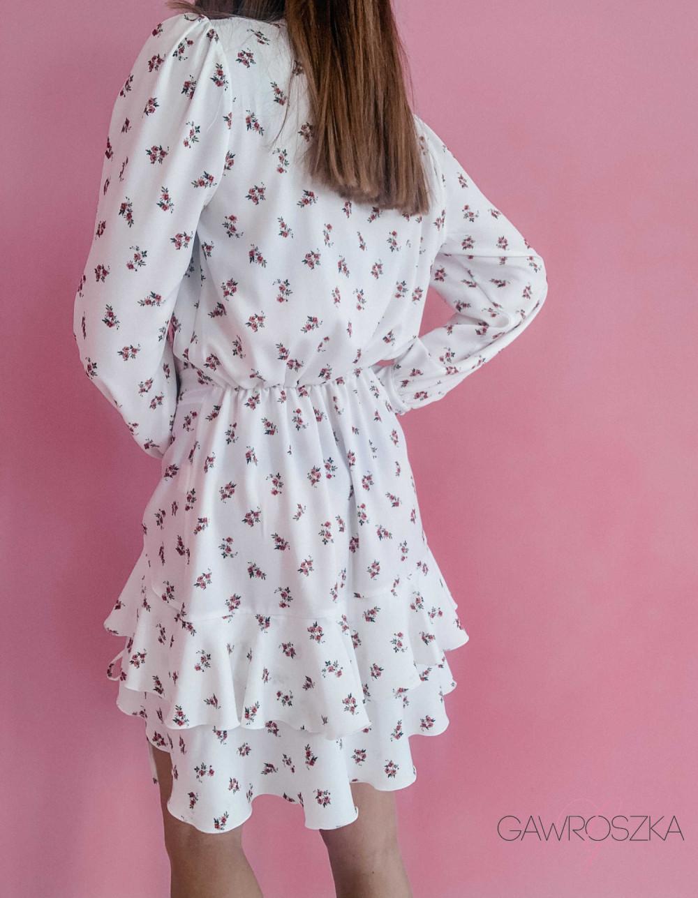 Sukienka Megi z regulowaną długością - biała 6