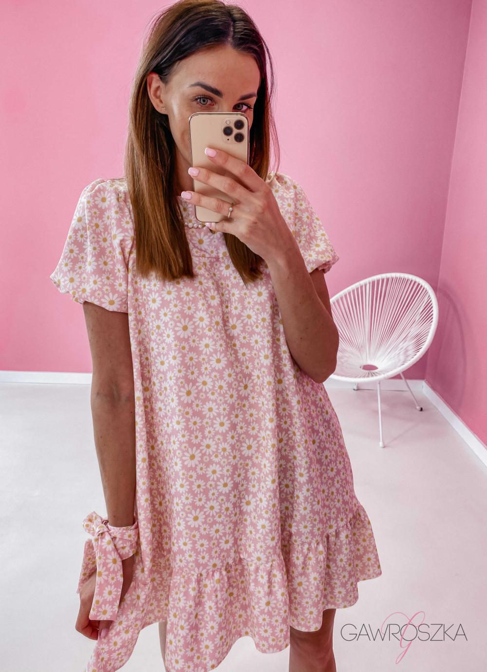 Sukienka Laura - stokrotki 1
