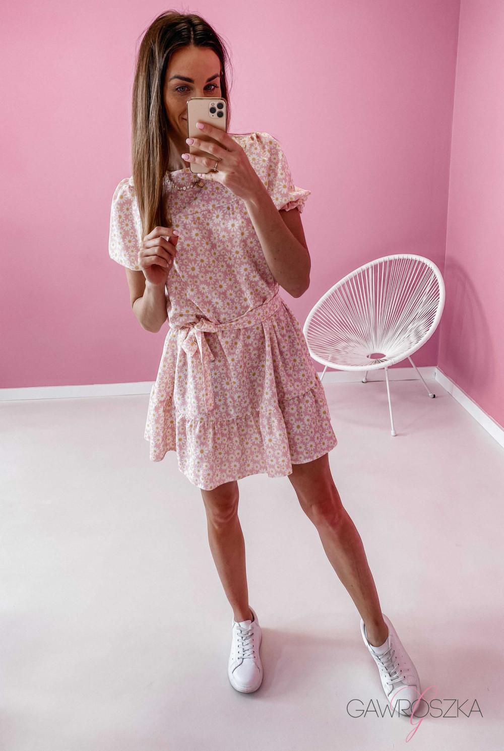 Sukienka Laura - stokrotki 2