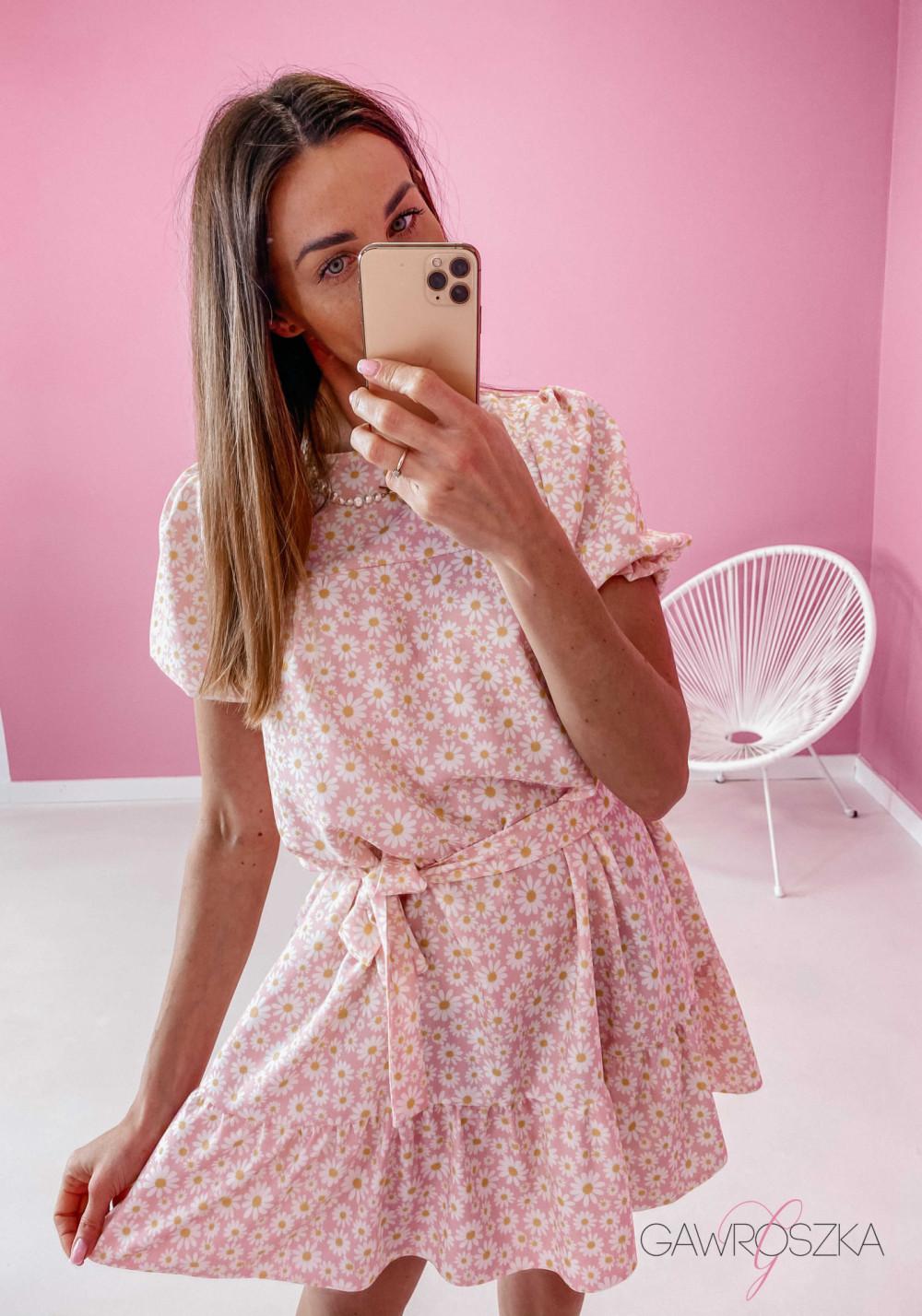 Sukienka Laura - stokrotki 3