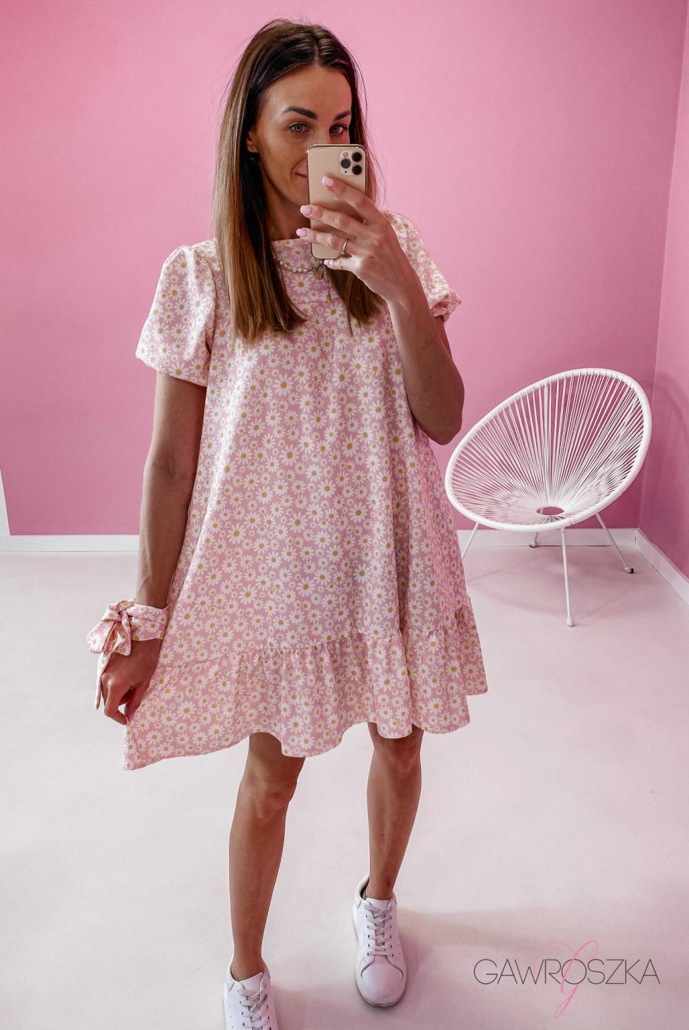 Sukienka Laura - stokrotki 4