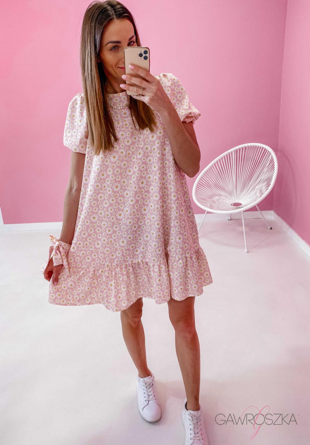 Sukienka Laura - stokrotki 5