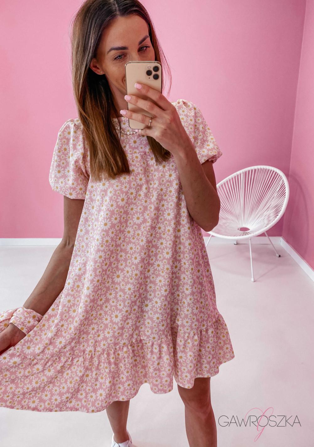 Sukienka Laura - stokrotki 6