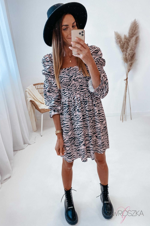 Sukienka Pola - zebra 2