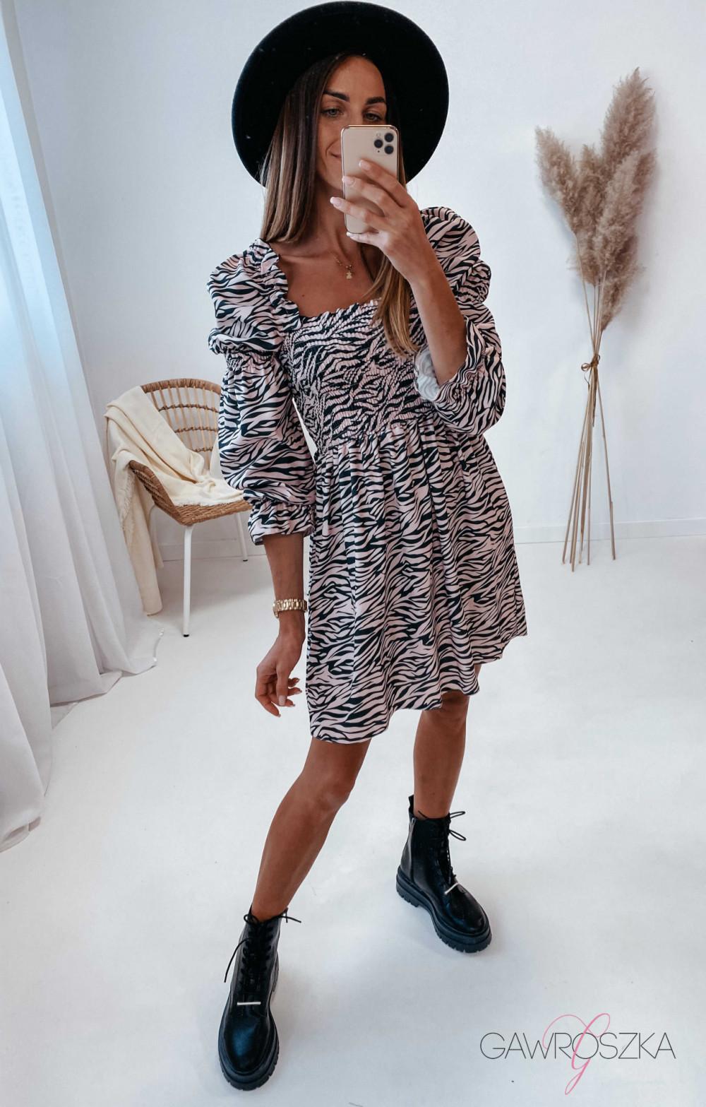 Sukienka Pola - zebra 5