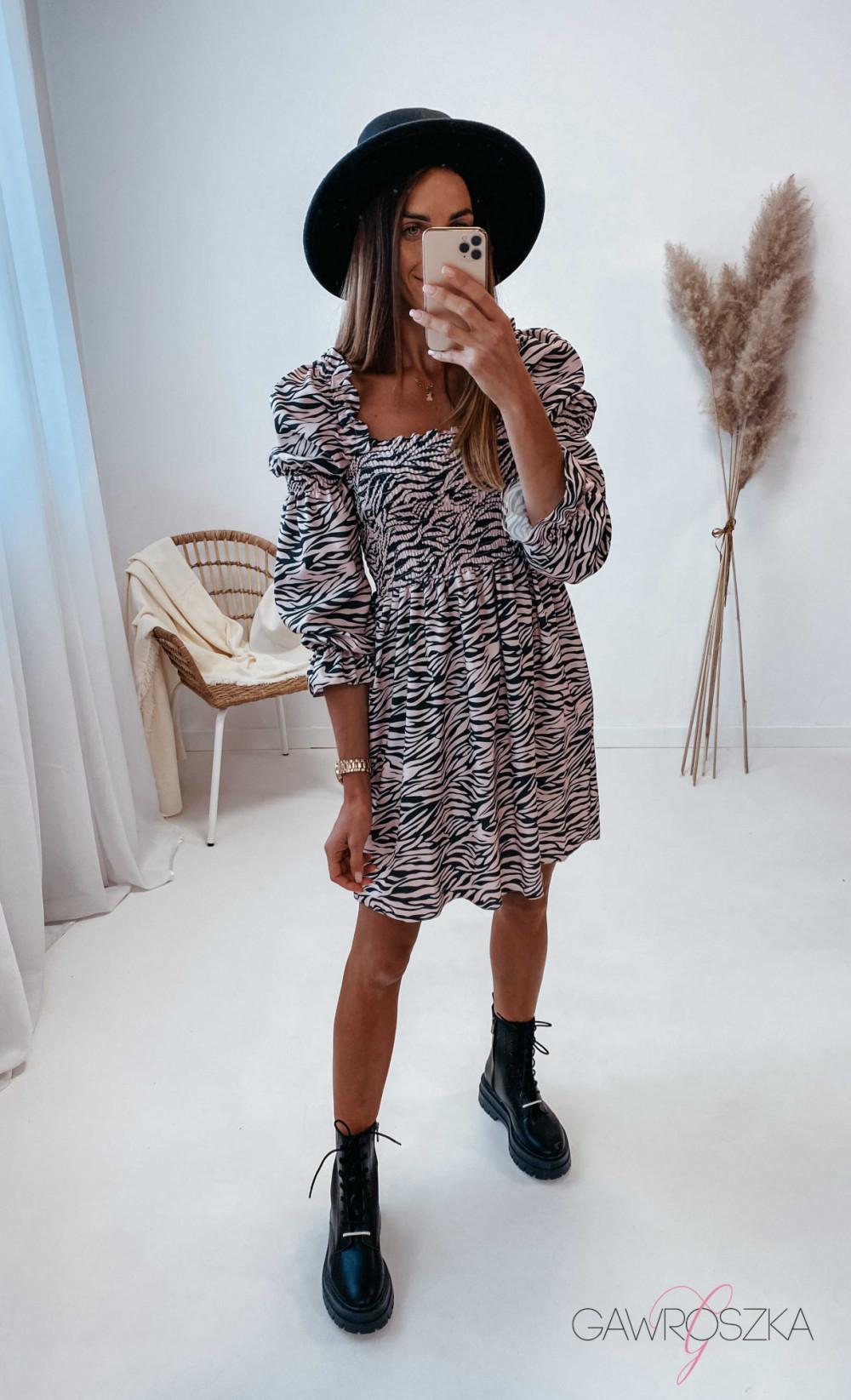 Sukienka Pola - zebra 6