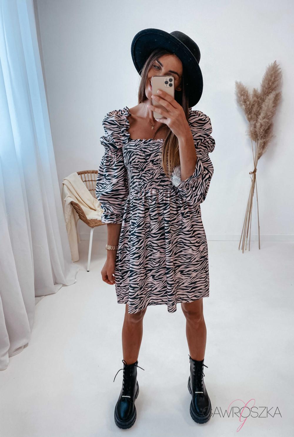 Sukienka Pola - zebra 7