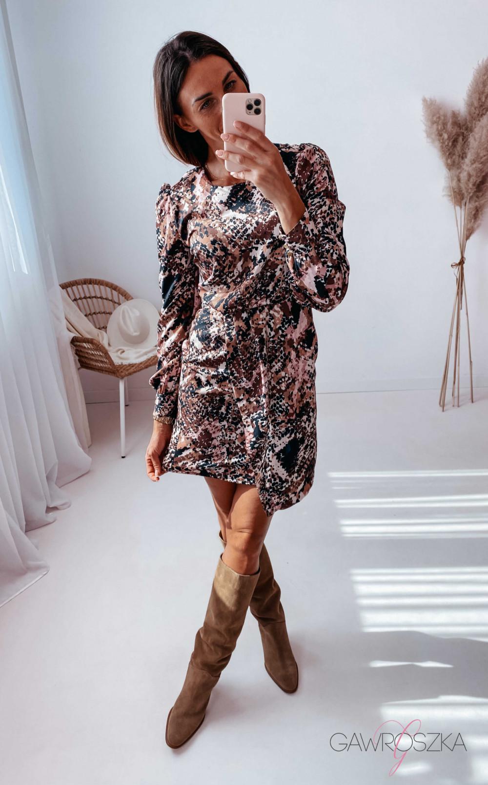 PRE ORDER Sukienka Lorine - snake 4