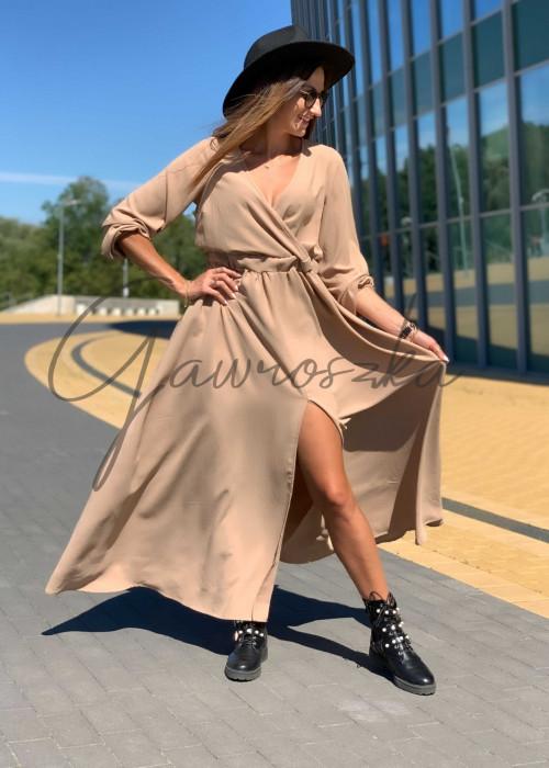 Sukienka Maxi Klara - beż