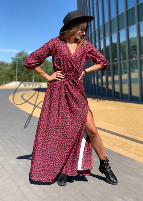 Sukienka Maxi Klara - red