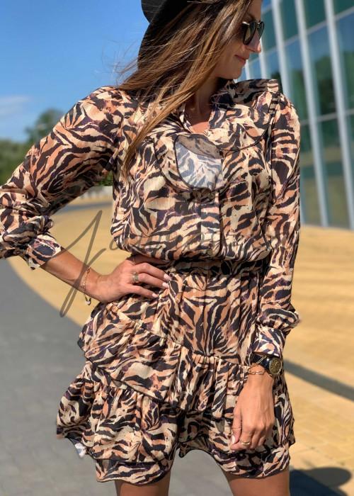 Sukienka Miluna - zebra