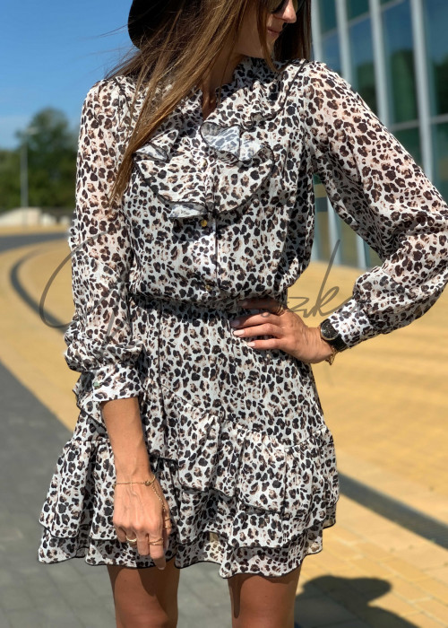 Sukienka Miluna - panterka