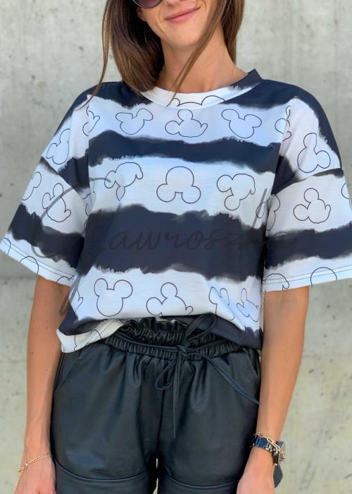 T-shirt Mickey - black