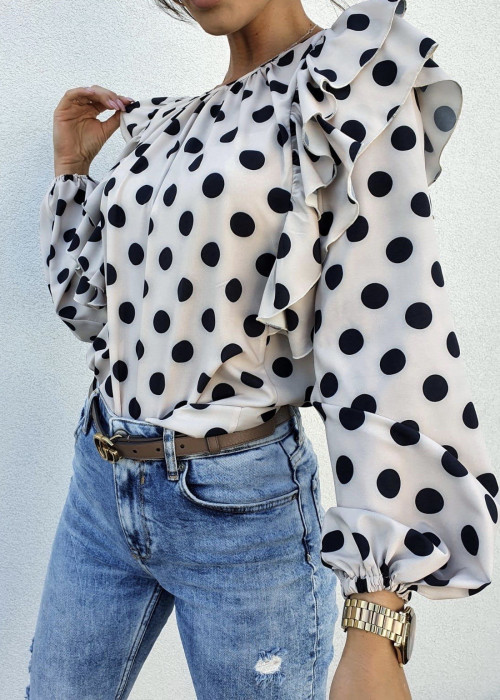 Bluzka Frill - dots