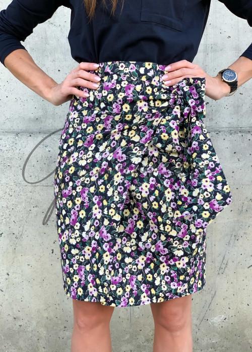 Spódnica wiązana MEG - violet