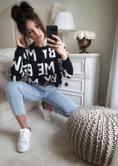 Sweter By me - czarny