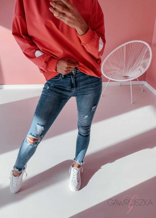 Spodnie jeans - BLUE