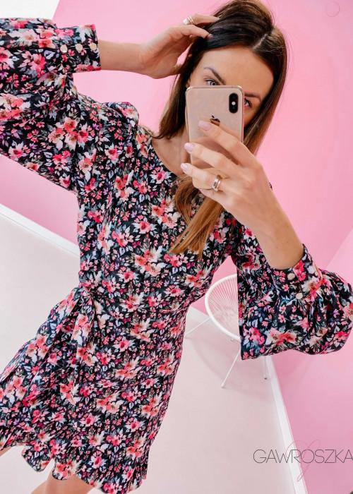Sukienka Miluna kwiaty