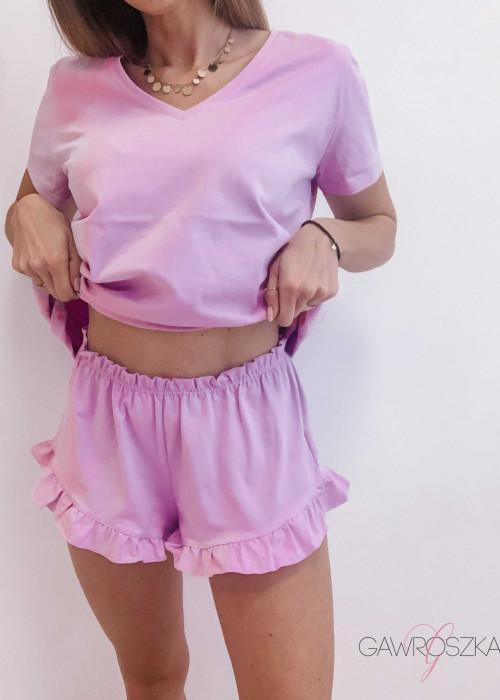 Piżamka Karla - liliowa