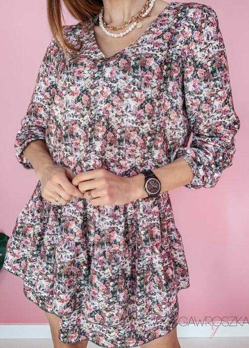 Sukienka Loe - wiosenne kwiaty