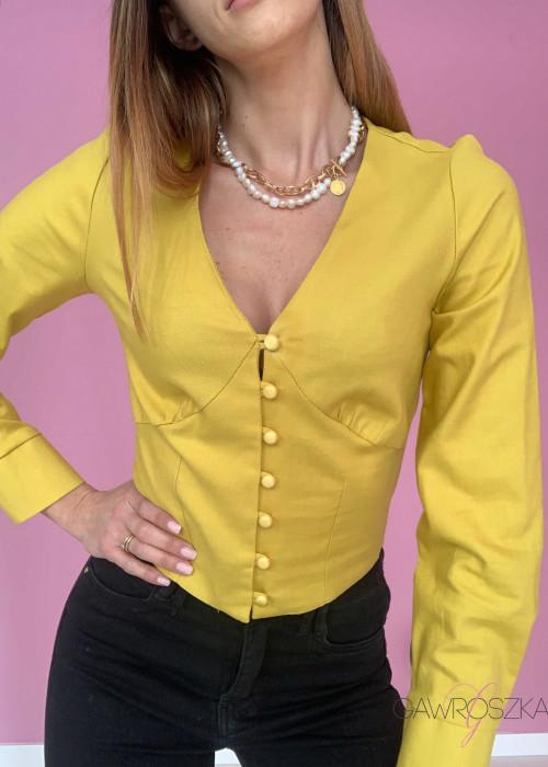 Bluzka Stay - bahama yellow