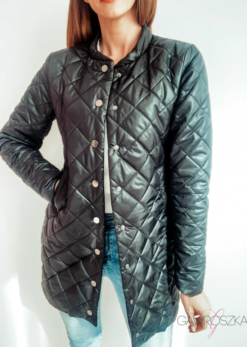 Płaszcz Stay - czarny