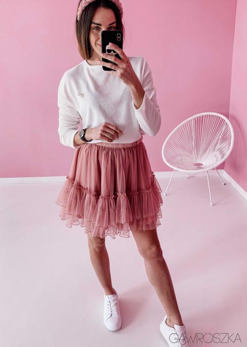 Spódnica tiulowa - różowa