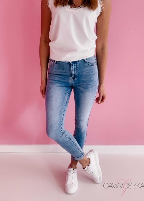 Spodnie jeans Laulia