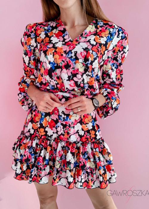 Sukienka Megi PREMIUM - bratki