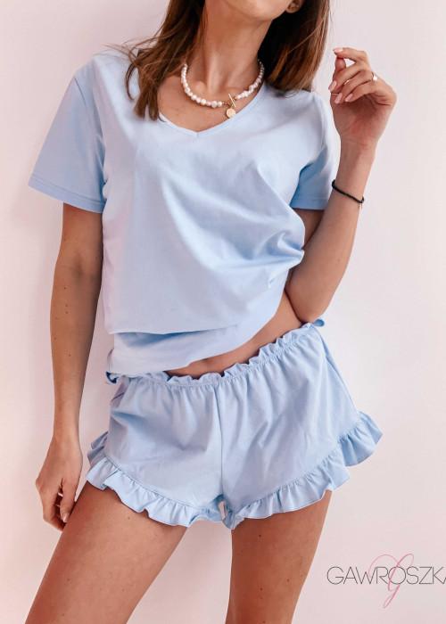 Piżamka Karla - niebieska