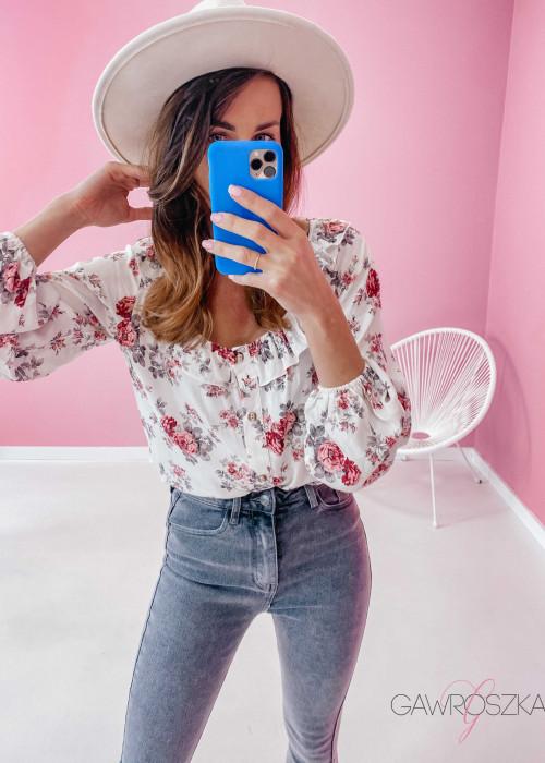 Koszula Simple - róże