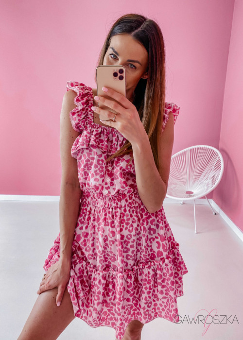 Hiszpanka Livia - różowa panterka