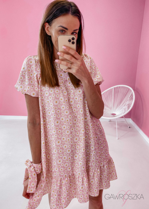 Sukienka Laura - stokrotki