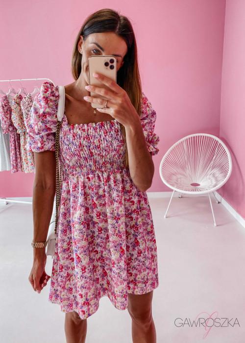 Sukienka Pola - liliowa