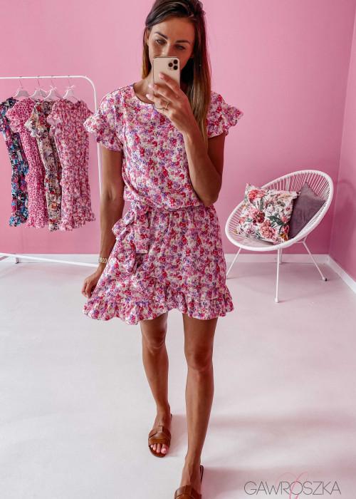 Sukienka Nina - liliowa