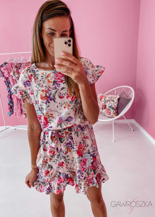 Sukienka Nina - ciepły beż