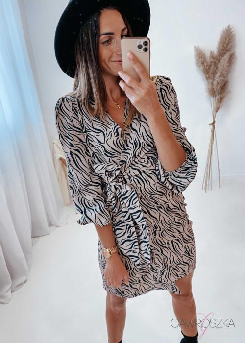 Sukienka Noemi - zebra