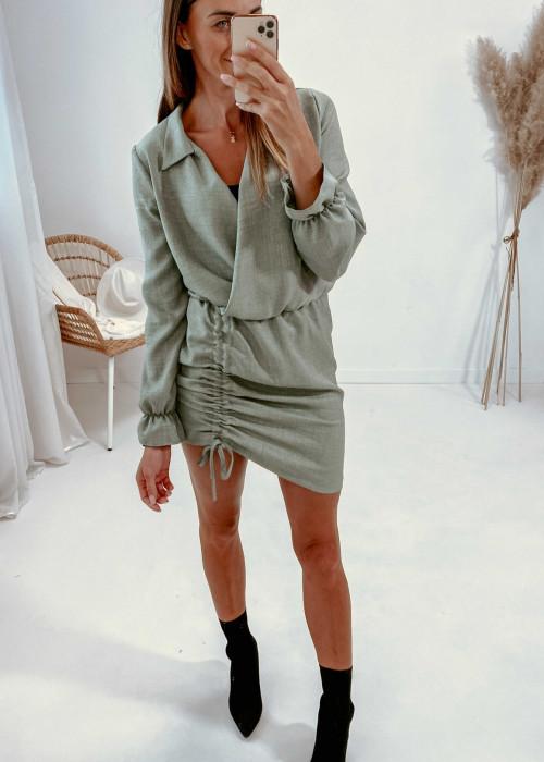 Sukienka Nell - khaki