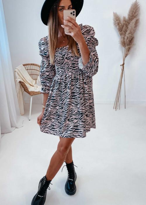 Sukienka Pola - zebra
