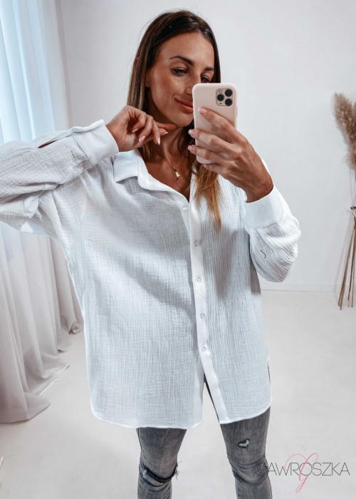 Koszula muślinowa - biała