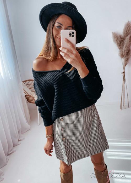 Sweter Milano - czarny
