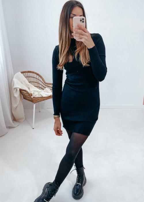 Sukienka Klara -czarna