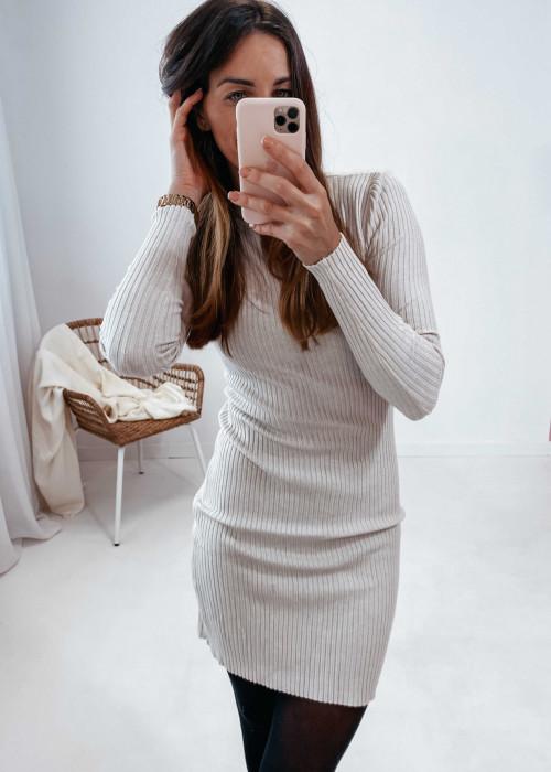 Sukienka Klara -beż