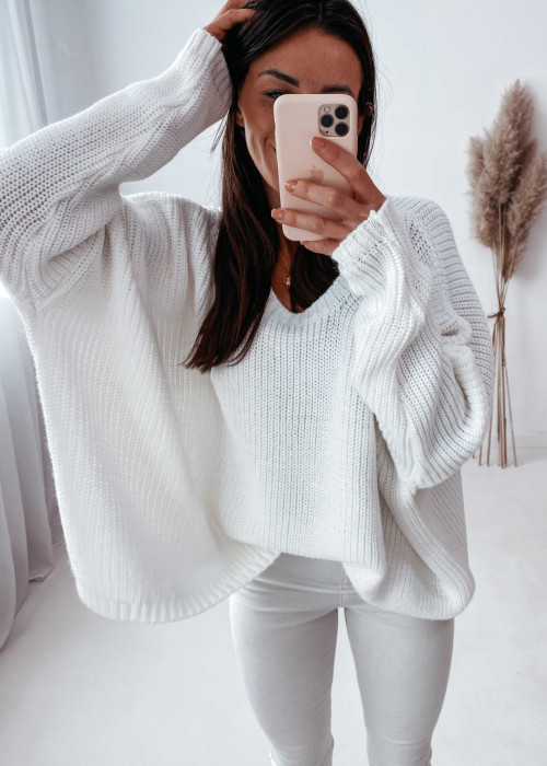 Sweterek zarka - śmietanka