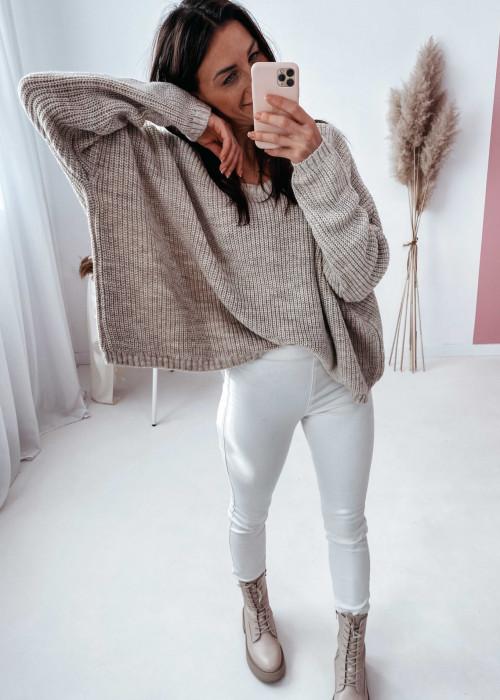 Sweterek zarka - beż